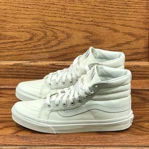 Vans Sk8 Hi Slim Blanc D Blanc Blanc D Blanc Shoes